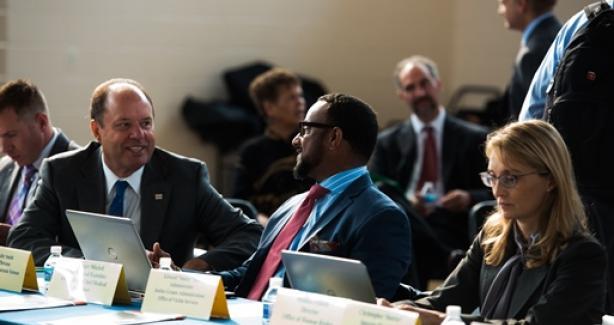 Mayor Bowser Cabinet Photo